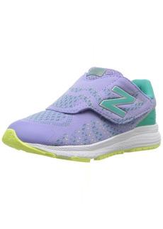 New Balance Girls' Vazee Rush v3 Hook and Loop Running Shoe