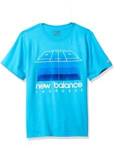 New Balance Kids Boys' Big Short Sleeve Graphic Tee  10/12