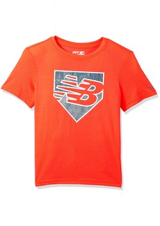 New Balance Kids Big Boys' Short Sleeve Graphic Tee  18/20