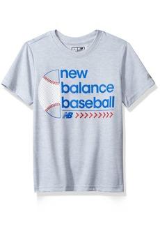 New Balance Kids Boys' Big Short Sleeve Graphic Tee  18/20