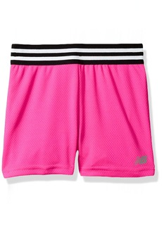 New Balance Kids Girls' Big Athletic Short