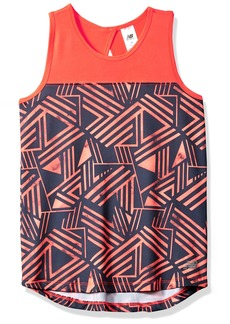 New Balance Kids Girls' Big Athletic Tank Top  10/12
