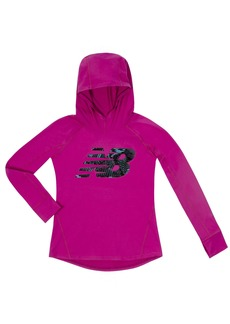 New Balance Kids Little Girls' Hooded Performance Tee