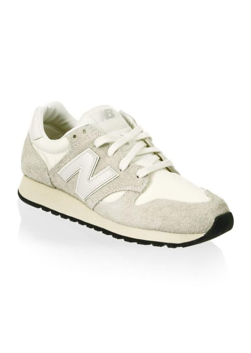 New Balance 520 Hairy Suede Sneakers