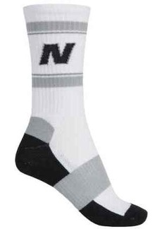 New Balance Lifestyle Varsity Socks - Colored Soles, Crew (For Women)