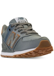 New Balance Little Boys' 574 Backpack Casual Sneakers from Finish Line