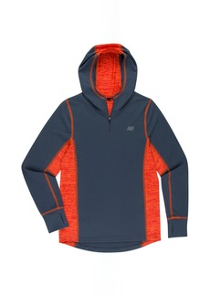 New Balance Little Boys' Athletic Hooded Pullover Tee