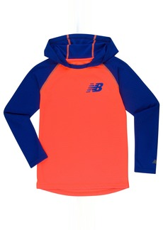 New Balance Boys' Little Athletic Hooded Pullover Top