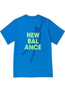 New Balance Boys' Little Short Sleeve Graphic Tee
