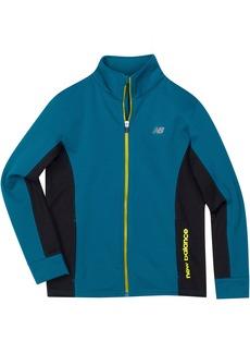 New Balance Little Boys' Athletic Full Zip Jacket
