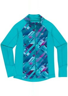 New Balance Girls' Little Athletic Full Zip Jacket