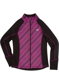 New Balance Little Girls' Athletic Full Zip Jacket