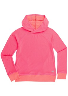 New Balance Little Girls' Athletic Pullover Top With Hood