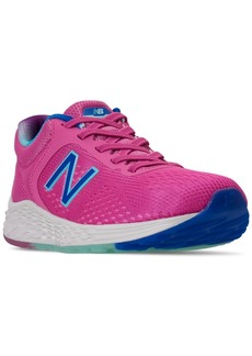 New Balance Little Girls Fresh Foam Arishi V2 Bungee Running Sneakers from Finish Line