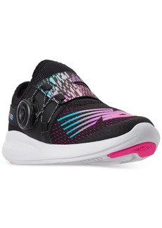 New Balance Little Girls' FuelCore Bko Adjustable Closure Running Sneakers from Finish Line