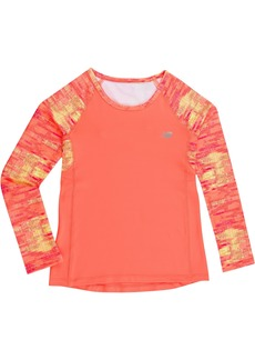 New Balance Girls' Little Long Sleeve Performance Tee