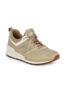 New Balance Logo Lace-Up Sneakers