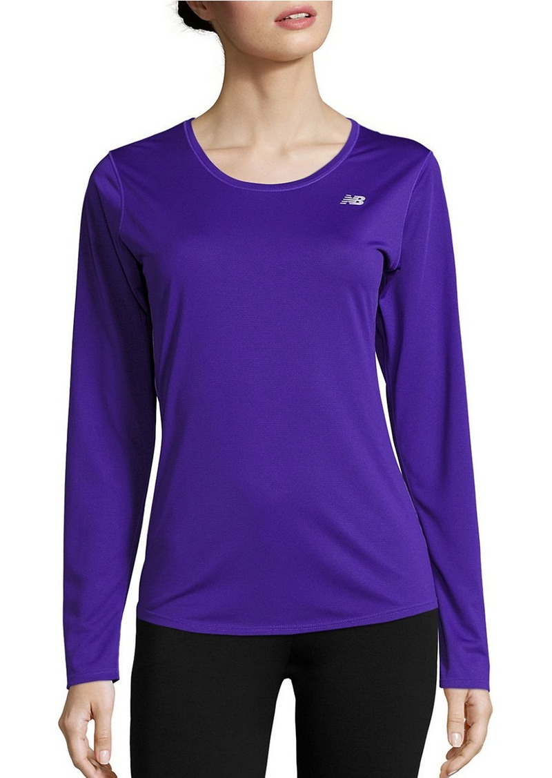 NEW BALANCE Long Sleeve Athletic Top