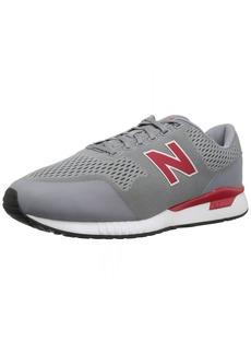 New Balance Men's 005v1 Sneaker Grey/red  D US