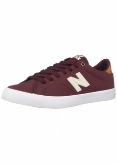 New Balance Men's 210v1 All Coast Skate Shoe Burgundy/tan  D US