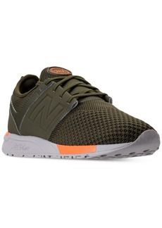 New Balance Men's 247 Knit Casual Sneakers from Finish Line