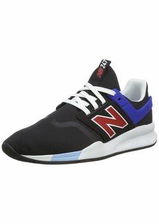 New Balance Men's 247 V2 Sneaker Black/Team red