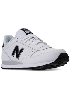 New Balance Men's 311 Leather Casual Sneakers from Finish Line
