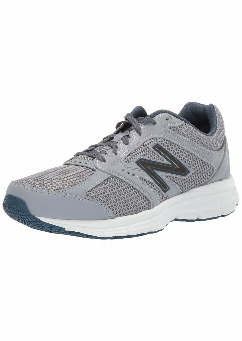 New Balance Men's 460v2 Cushioning Running Shoe Steel/North sea 15 4E US