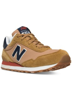 New Balance Men's 515 Suede Casual Sneakers from Finish Line