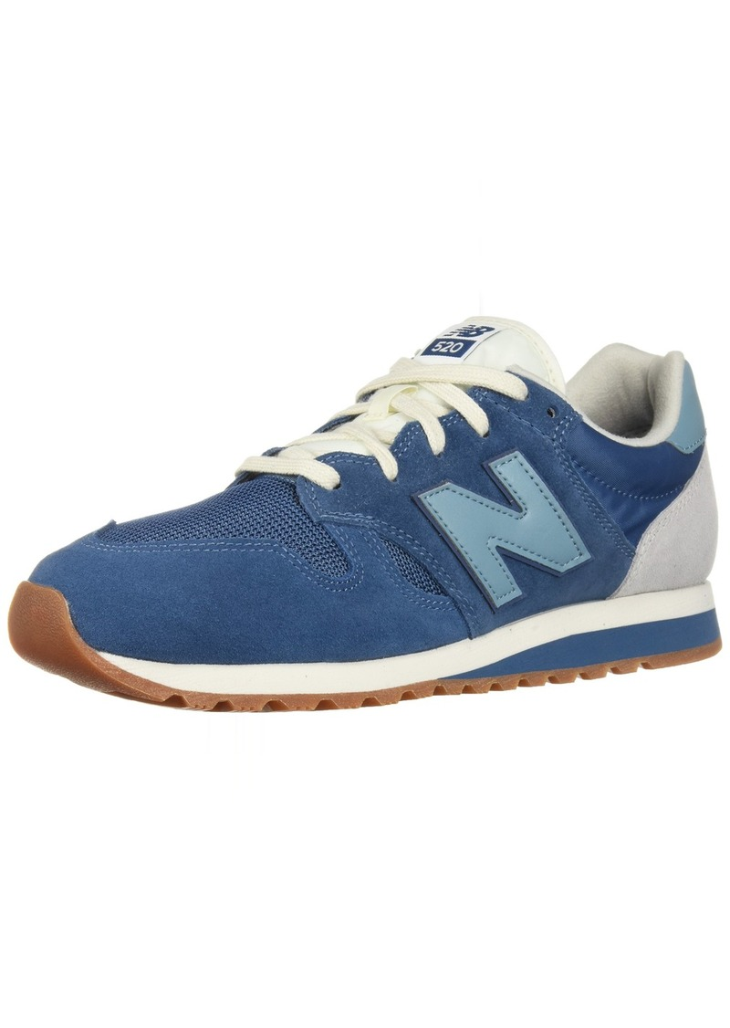 New Balance Men's 520v1 Sneaker dark blue/adriatic blue  D US
