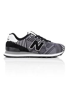 New Balance Men's 574 Beaded Suede Sneakers
