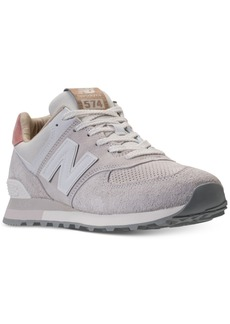New Balance Men's 574 Premium Casual Sneakers from Finish Line
