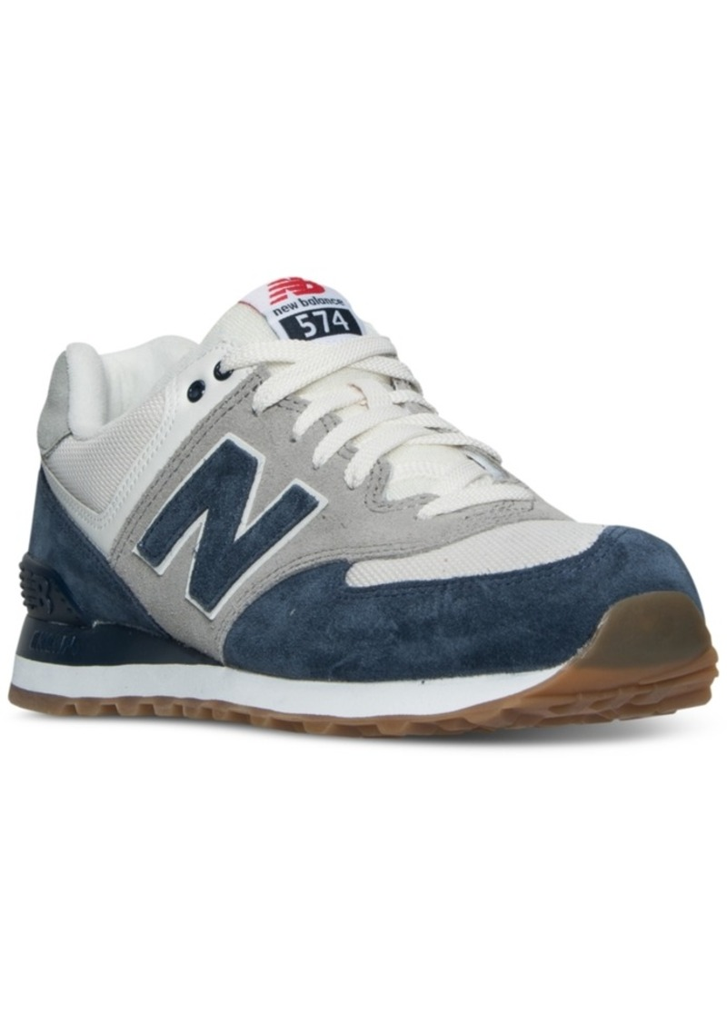 9fee65bc81277 New Balance New Balance Men's 574 Retro Sport Casual Sneakers from ...