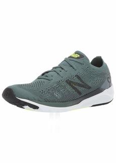 New Balance Men's 890v7 Running Shoe Dark Agave/ORCA/Bleached Lime GLO  D US