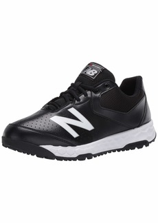 New Balance Men's 950 V3 Umpire Baseball Shoe MLB Black/White  M US