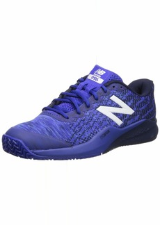 New Balance Men's 996v3 Clay Court Tennis Shoe UV Blue/Pigment 9 2E US