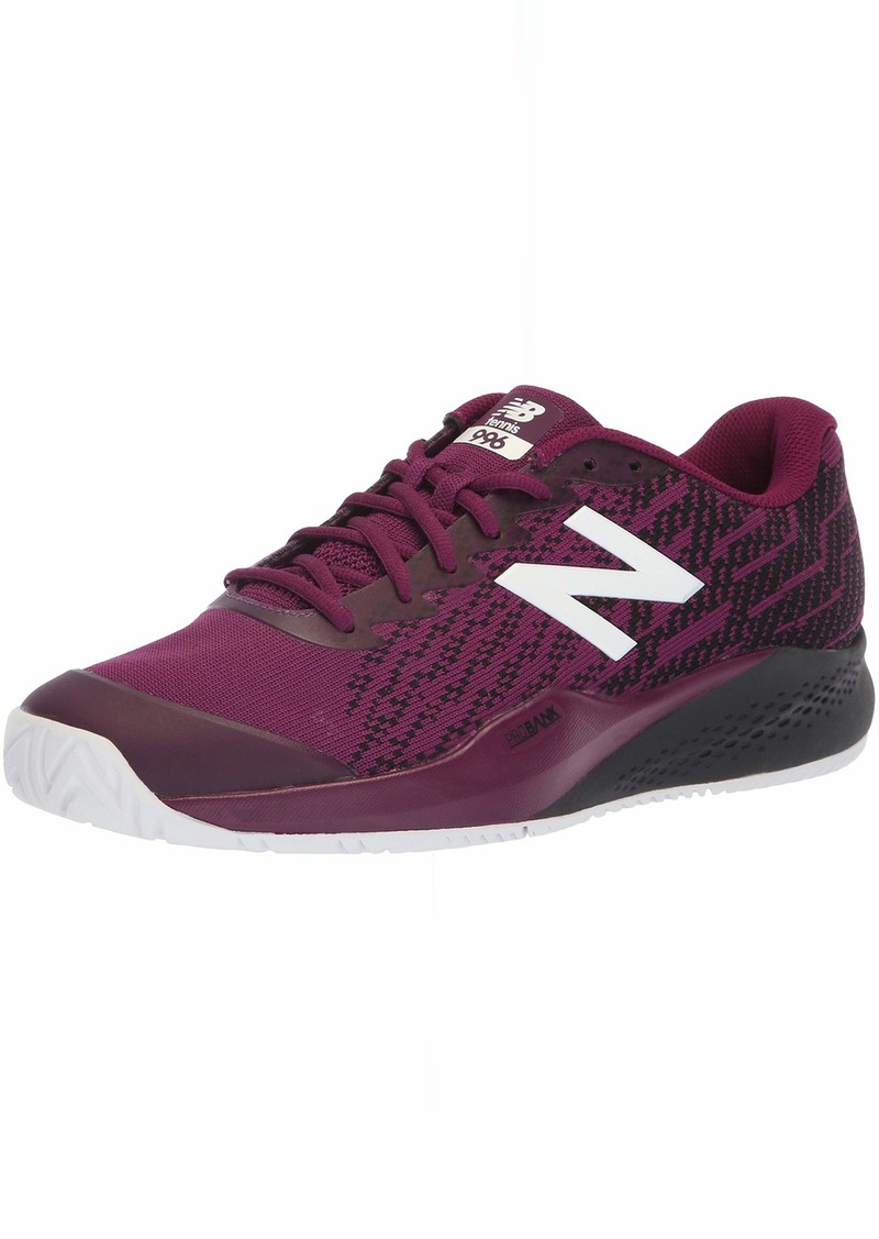 New Balance Men's 996v3 Hard Court Running Shoe   D US