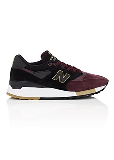 New Balance Men's 998 Suede & Mesh Sneakers