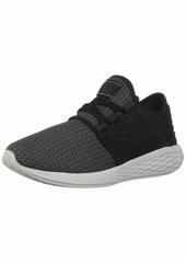 New Balance Men's Cruz V2 Fresh Foam Running Shoe black/castlerock/nubuck 12 D US