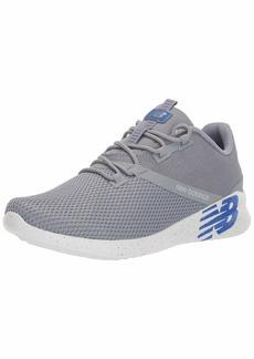 New Balance Men's District Run V1 Cush + Sneaker steel