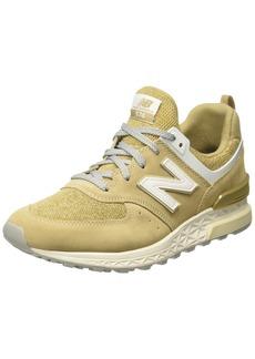 New Balance Men's Fresh Foam 574 Sport V2 Sneaker beige .5 D US