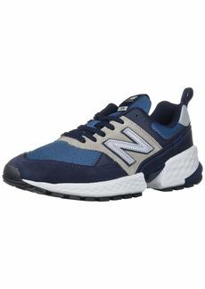 New Balance Men's Fresh Foam 574 Sport V2 Sneaker Eclipse/NB Light Blue  D US