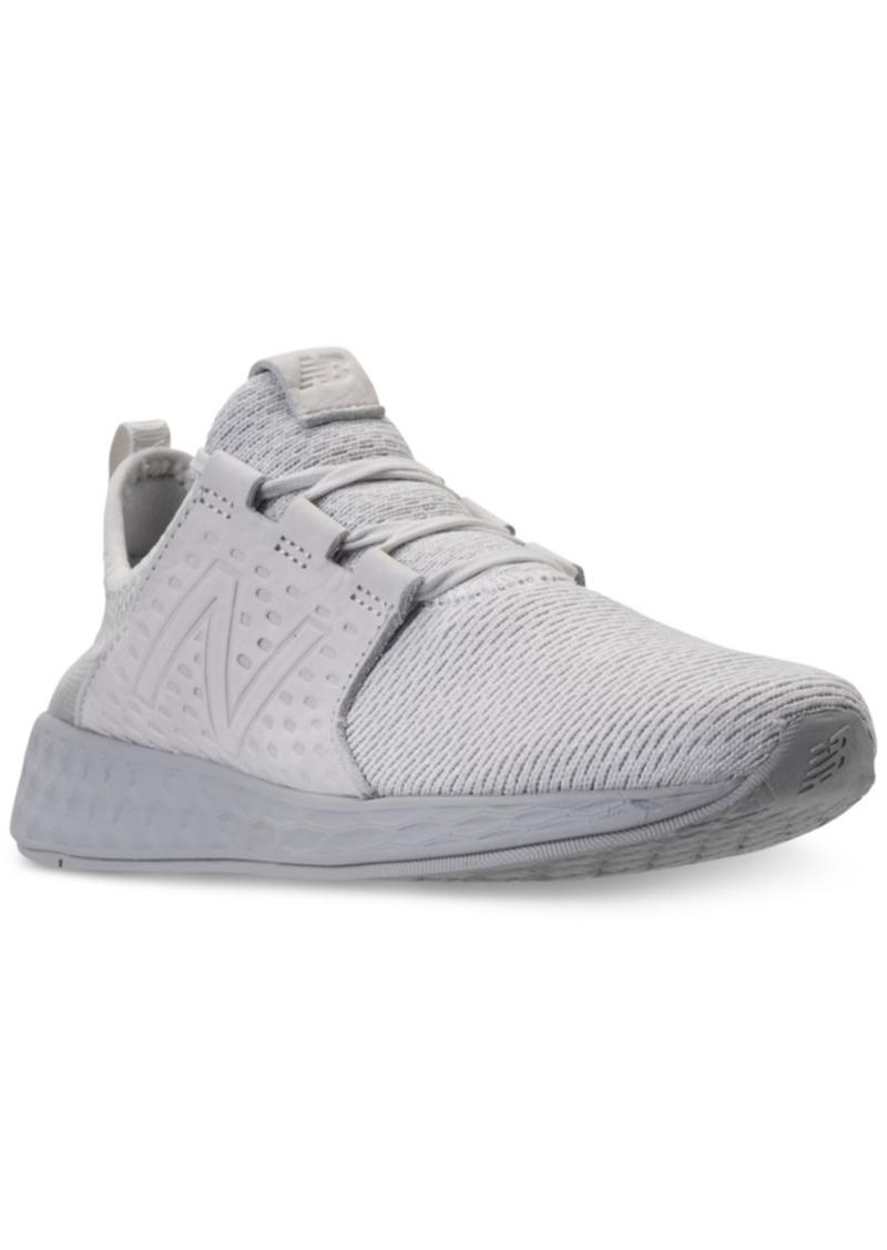2a6999589 New Balance New Balance Men's Fresh Foam Cruz Running Sneakers from ...