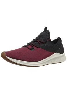 New Balance Men's Fresh Foam Lazr v1 Sport Running Shoe Black/Oxblood/sea Salt 9.5 2E US