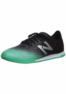 New Balance Men's Furon v5 Dispatch in Soccer Shoe neon Emerald/Black/Silver-1  D US