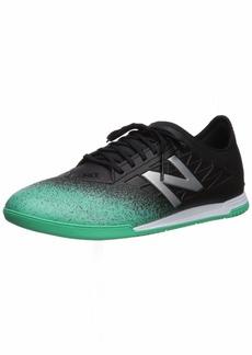New Balance Men's Furon v5 Dispatch in Soccer Shoe neon Emerald/Black/Silver-1  D US