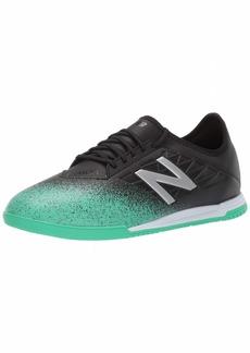 New Balance Men's Furon V5 Soccer Shoe neon Emerald/Black/Silver-4 12.5 2E US