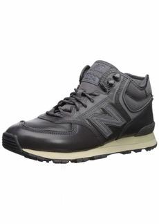 New Balance Men's Iconic 574 Sneaker Castlerock 18 2E US