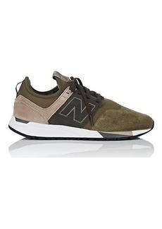 New Balance Men's Men's 247 Luxe Nubuck & Neoprene Sneakers