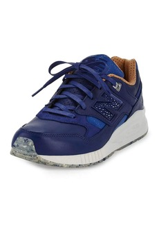 New Balance Men's ML530 Leather Trainer Sneaker